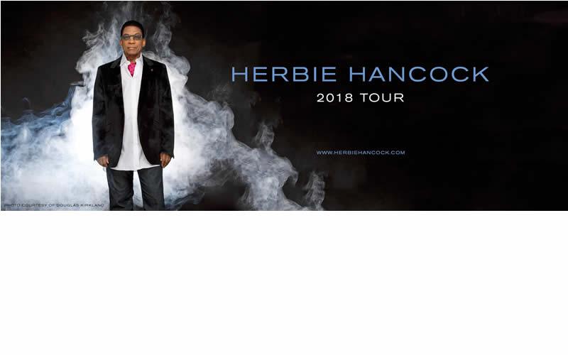 Herbie Hancock Tour poster