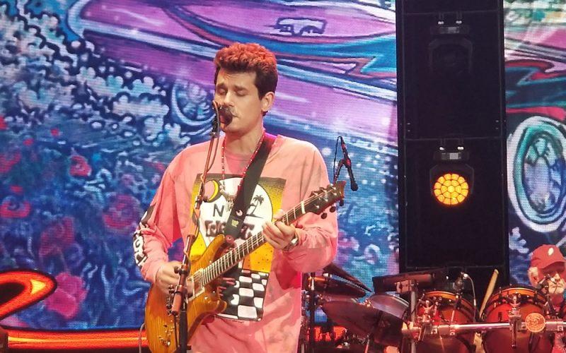 John Mayer with Dead and Company June NY show Citi Field