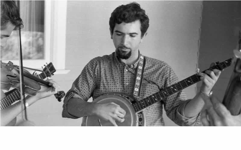 jerry garcia 1950s banjo