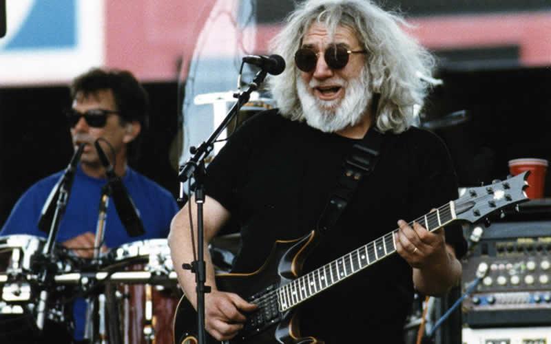 Jerry Garcia Tiger Guitar