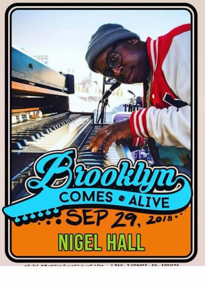 photo of nigel hall brooklyn comes alive