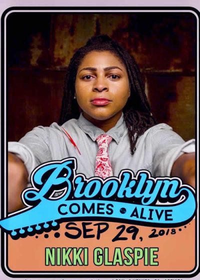 photo of nikki glaspie brooklyn comes alive