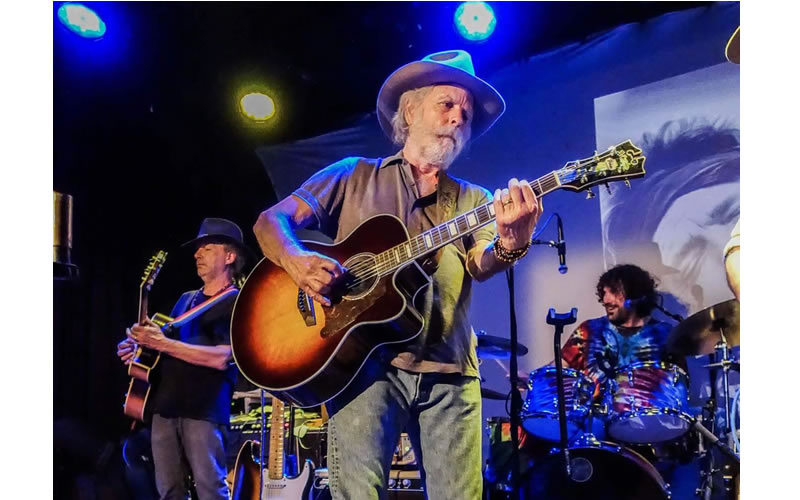 Bob Weir performing at the John Perry Barlow Memorial