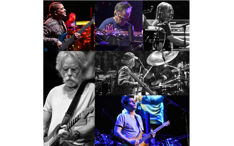 dead and company collage image