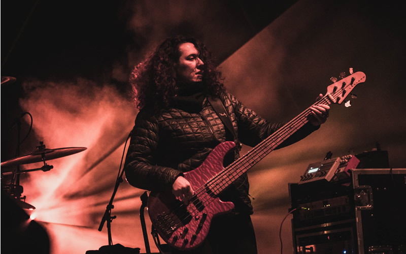 Alana Rocklin on bass STS9