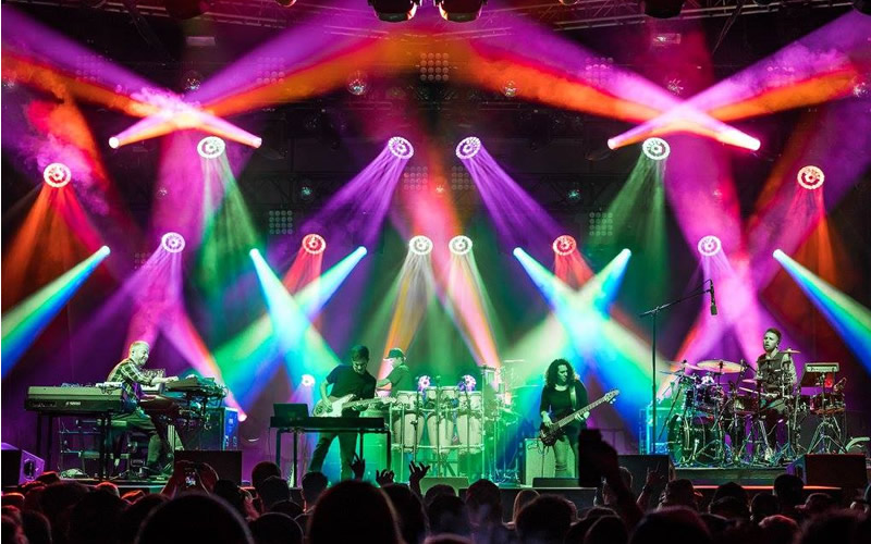 STS9 neon lights