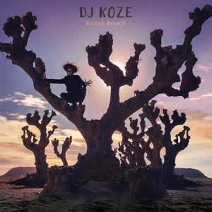 "Album cover for DJ KOZE ""Knock Knock"""