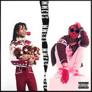 "Album cover for RAE SREMMURD ""Sr3mm"""
