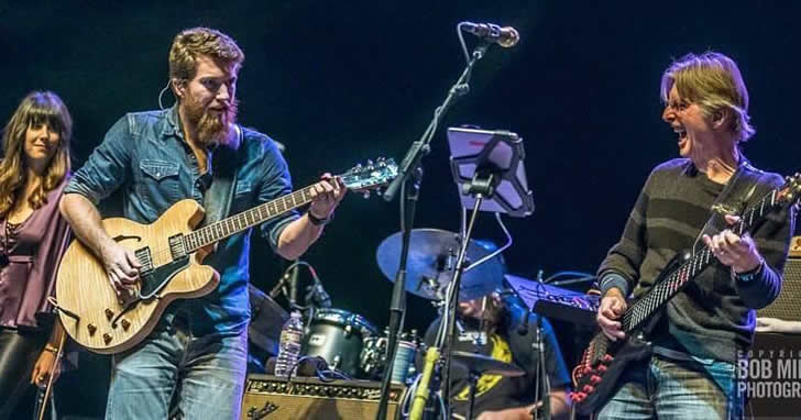 terrapin fami;y band live on stage photo by bob minkin