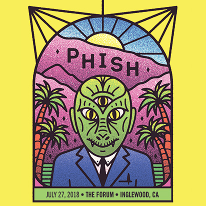 phish stream summer 2018 Inglewood CA