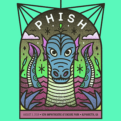phish stream summer 2018 Georgia